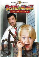 Cover image for Dennis the menace