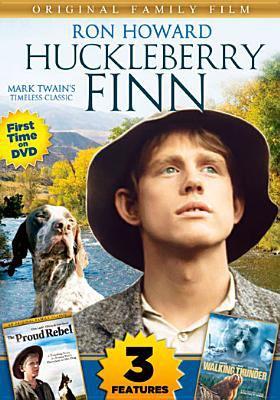 Imagen de portada para Huckleberry Finn and The proud rebel and Walking Thunder.