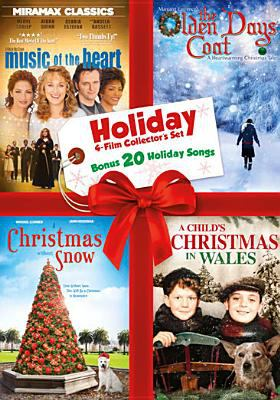 Cover image for Music of the heart [videorecording DVD] ; The olden days coat ; A Christmas without snow ; A child's Christmas in Wales.