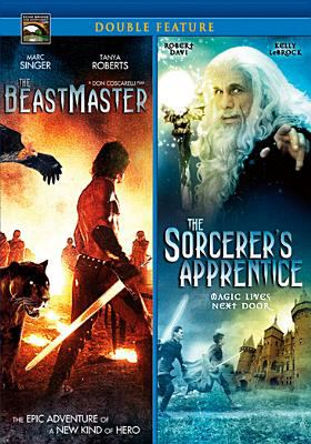 Cover image for The beastmaster ; The sorcerer's apprentice [videorecording DVD]
