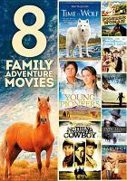 Imagen de portada para 8 family adventure movies [videorecording DVD].