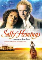 Cover image for Sally Hemings an American scandal
