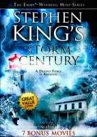 Cover image for Storm of the century [videorecording DVD] : A deadly force is brewing.