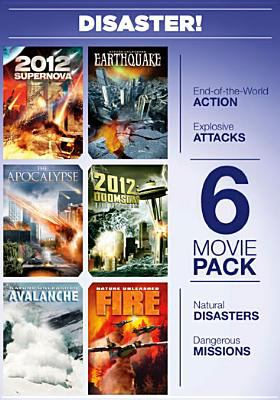 Cover image for Disaster! 2012 supernova ; Apocalypse ; Nature unleashed: avalanche ; Nature unleashed: earthquake ; 2012 doomsday ; Nature unleashed: fire.