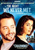 Imagen de portada para The night we never met