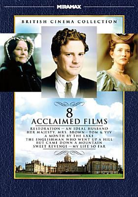 Cover image for British Cinema Collection [videorecording DVD] : 8 Acclaimed Films.