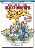 Cover image for The Bad news bears