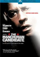 Cover image for The Manchurian candidate (Denzel Washington version)