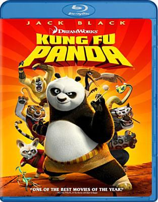 Cover image for Kung fu panda [videorecording Blu-ray]