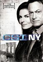 Cover image for CSI: NY. Season 9, Complete the final season