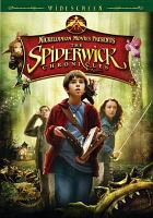 Cover image for The Spiderwick chronicles
