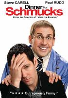 Cover image for Dinner for schmucks [videorecording DVD]