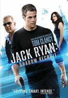Imagen de portada para Jack Ryan : shadow recruit [videorecording DVD]