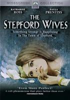 Cover image for The Stepford wives [videorecording DVD] (Katharine Ross version)
