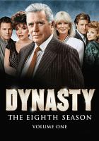 Cover image for Dynasty. Season 8, Vol. 1 [videorecording DVD]