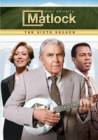 Cover image for Matlock. Season 6, Complete