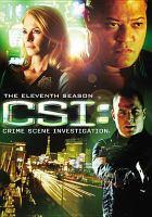 Cover image for CSI. Season 11, Complete Crime scene investigation