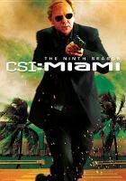 Cover image for CSI: Miami. Season 9, Disc 2 Crime scene investigation.