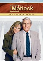 Cover image for Matlock. Season 7, Complete