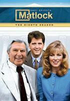 Cover image for Matlock. Season 8, Complete