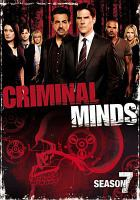 Cover image for Criminal minds. Season 07, Complete
