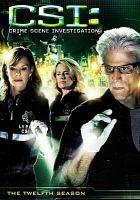 Cover image for CSI. Season 12, Complete Crime scene investigation
