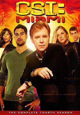 Cover image for CSI: Miami. Season 4, Complete