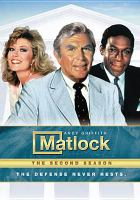 Cover image for Matlock. Season 2, Complete