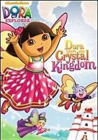 Imagen de portada para Dora the explorer. Dora saves the Crystal Kingdom