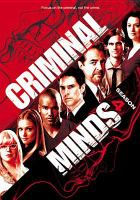 Cover image for Criminal minds. Season 04, Complete