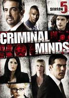 Cover image for Criminal minds. Season 05, Disc 2