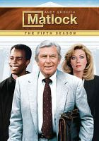 Cover image for Matlock. Season 5, Complete
