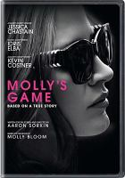 Cover image for Molly's game [videorecording DVD]