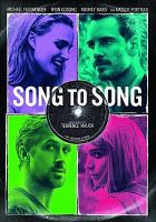 Cover image for Song to song [videorecording DVD]