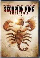 Cover image for Scorpion King [videorecording DVD] : Book of souls