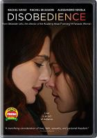 Cover image for Disobedience [videorecording DVD]