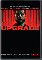 Cover image for Upgrade [videorecording DVD]