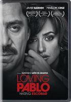 Cover image for Loving Pablo, hating Escobar [videorecording DVD]