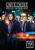 Cover image for Law & order, SVU. Season 19, Complete [videorecording DVD].
