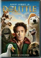 Cover image for Dolittle [videorecording DVD]