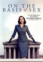 Imagen de portada para On the basis of sex [videorecording DVD]