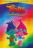 Cover image for Trolls, the beat goes on!. Seasons 1-4 [videorecording DVD]