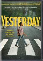Cover image for Yesterday [videorecording DVD] (Himesh Patel version)