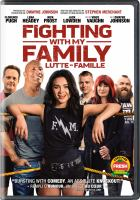 Cover image for Fighting with my family [videorecording DVD]