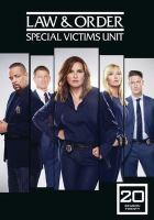 Cover image for Law & order, SVU. Season 20, Complete [videorecording DVD]
