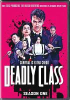 Cover image for Deadly class. Season 1, Complete [videorecording DVD]