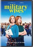 Imagen de portada para Military wives [videorecording DVD]