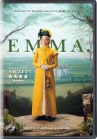 Imagen de portada para Emma [videorecording DVD] : (Anya Taylor-Joy version)