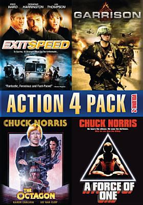 Cover image for Action 4 pack. Volume 2 [videorecording DVD].