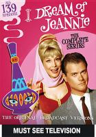 Cover image for I dream of Jeannie. Part 1 [videorecording DVD] : the original broadcast versions.